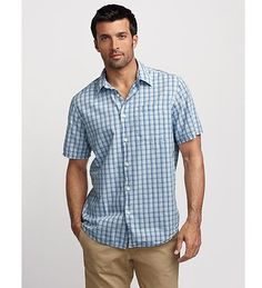 Classic Fit Bainbridge Seersucker Shirt
