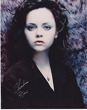CHRISTINA RICCI hand signed 8x10 photograph photo autographed |