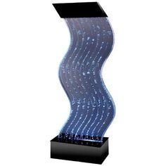 Water Panel Wave Floor Fountain