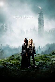 Le 100 - Clarke et Lexa - Saison 3 (affiche ensemble)