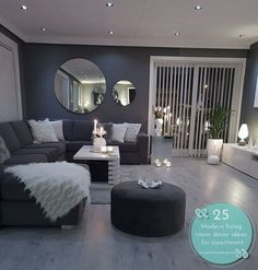 Different Interior Decorating Styles For a Living Room Living Room Decor Cozy, Home Living Room, Living Room Designs, Living Spaces, Living Room On A Budget, Apartment Living, Interior Design Career, Interior Decorating Styles, Modern Interior