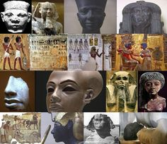 these aren't Black people, aliens built the pyramids lol #really?