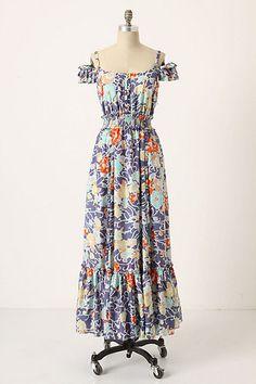 Honeysuckle Silk Dress by Leifsdottir