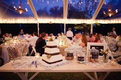 Clear Marquee - oh my gosh this is almost exactly what i want!