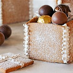 Try this Gingerbread Boxes  recipe by Chef LifeStyle FOOD.