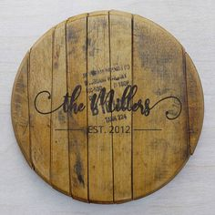 Bourbon Barrel, Bamboo Cutting Board, House Warming, Wedding Gifts, Anniversary, Couch, Elegant, Simple, Furniture