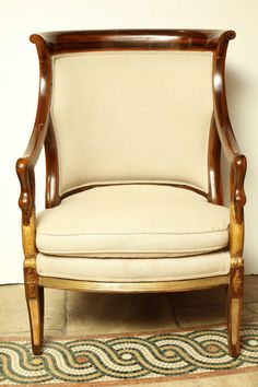 empire stílusú fotel Decor, Furniture, Accent Chairs, Shabby Chic, Shabby, Chair, Home Decor, Country Chic