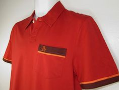 Men Penguin by Munsing Wear Polo Golf Shirt Classic Fit sz Small