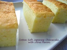 Home Cooking In Montana: Japanese Cheesecake... cotton-soft, light, and fluffy.