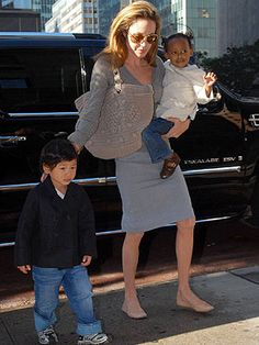 You Asked, We Found: Angelina Jolie's Tan Flats – Style News - StyleWatch - People.com
