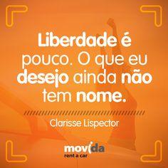 #Liberdade é um algo que todos buscamos, mas que para cada um tem uma definição. Qual a sua?