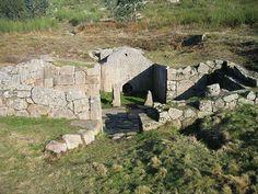 Sauna da citania de Sanfins (Norte de Portugal).