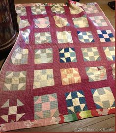 love the antique quilts