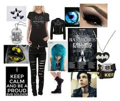 Black Veil Brides IV Concert in Dec. 12th by angel-dickey on Polyvore featuring polyvore art