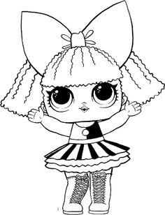 93 best lol dolls coloring pages images  coloring books