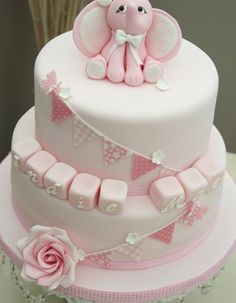 baby christening cakes images - Google Search