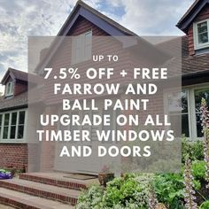Do you live in a grade 2 listed or conservation area? If you do and have planning consent, we are currently offering up to 7.5% off timber windows and doors. Plus, a free upgrade to Farrow and Ball paint. . . #timberwindows @farrowandball #timberdoors #fb #farrowandball #windowupgrade #gradeIIlisted #windowsale #sale #specialoffer #banbury #architects #design #doorideas #windowideas #homeimprovements Wooden Sash Windows, Timber Windows, Casement Windows, Windows And Doors, Bourton On The Water, Traditional Windows, Sight Lines, Farrow And Ball Paint, Window Styles