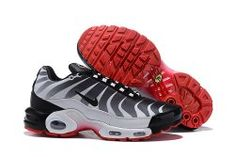 Nike Homme Air Max Plus Wolf GreySpeed Red AQ1088 001 Chaussures