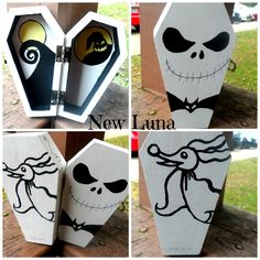 Nightmare Before Christmas Coffin Box