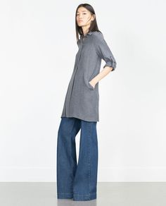 LONG TUNIC-View all-Dresses-Woman-COLLECTION SS16 | ZARA United States