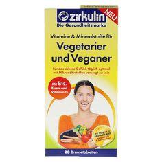 ZIRKULIN Vitamine u.Mineralst.f.Vegetarier+Veganer