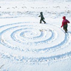 Зимние игры для детей на улице | Baby journal