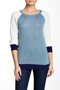 Thermal Raglan Sweater by Poof on @nordstrom_rack
