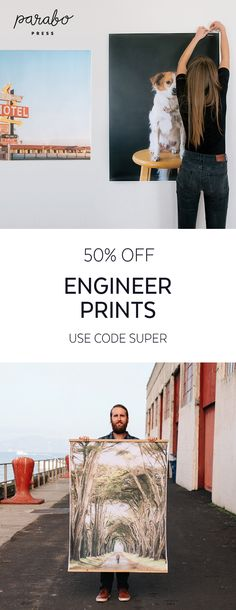 Your photos deserve to make an impact - our 4 feet by 3 feet Engineer Prints help you do just that. Save on Engineer Prints with code SUPER, now through December Diy Projects Apartment, Home Projects, Order Photo Prints, Print Instagram Photos, Funky Gifts, Engineer Prints, Enlarge Photos, Sewing Art, Square Photos