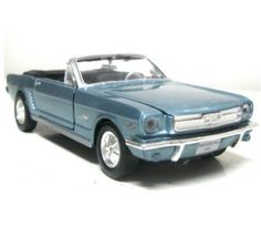 Ford Mustang Convertible 1964 1/2 - 1:24 (Light Blue) MM73212LB