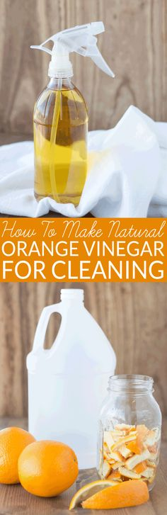 How to Make Scented Vinegar for Cleaning. This DIY cleaner is easy to make and non-toxic. It cuts through grease with ease. Orange vinegar for cleaning combines the cleaning power of vinegar and orange oil. All-natural non-toxic cleaning. Deep Cleaning Tips, Green Cleaning, House Cleaning Tips, Cleaning Solutions, Spring Cleaning, Homemade Cleaning Products, Cleaning Recipes, Natural Cleaning Products, Cleaning Hacks