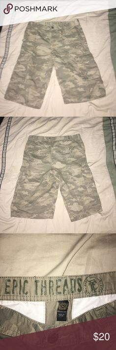 Camo Shorts Camo Shorts by Epic Threads Epic Threads Shorts Cargo