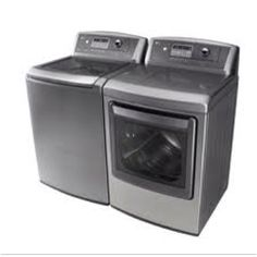 LG graphite color, top loader large capacity washer and dryer combo. BEST WASHER I'VE EVER HAD.