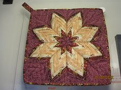 "potholder ""The Star of Origami"""