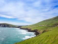 Cape on the Dingle Peninsula! Station Balnéaire, Land Scape, Ocean, Tours, Water, Outdoor, The South, Stone Houses, Windsurfing