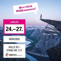 HapaTeam ist dieses Jahr zum ersten Mal als #Aussteller auf der #ISPO in #München vertreten. Unseren #Infostand findet Ihr in Halle B5 | Stand Nr. 517. Wir freuen uns auf Euren Besuch!  #meethapateam #hapateam #event #ispo #ISPO #ISPO2016 #b2b #messe #sport #business