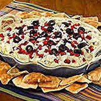 Layered Hot Artichoke and Feta Dip by Kraft Foods