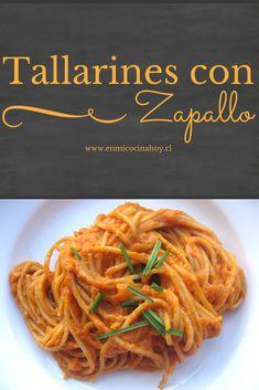 Tallarines con zapallo | En Mi Cocina Hoy