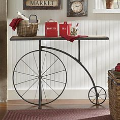 Penny-Farthing Console from Through the Country Door®