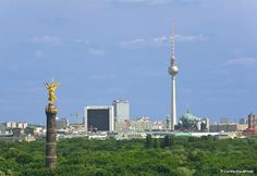 View of green Berlin-Mitte More information on #Berlin: visitBerlin.com