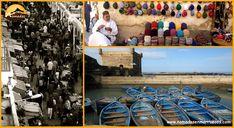 🏝🕌🐪ESSAOUIRA🐪🕌🏝 No es sólo una bonita 😍 ciudad histórica amurallada y playas 🏖 Su inconfundible 🦀 aroma 🦐 marinero 🐟, recordado constantemente por el incesante chillido de las gaviotas 🌊 y el continuo trajinar de los pescadores 🛶 se mezcla con su atmósfera bohemia Morocco, Beaches, Bohemia, Pretty, Cities, Places
