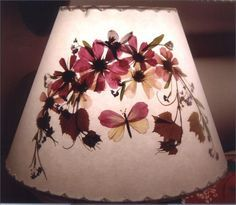 How To Make Pressed Flower Lamp Shades   Google Search