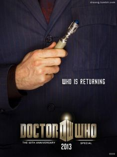 I am beyond excited that David Tennant is going to be in the 50th anniversary episode of Doctor Who!!!