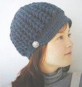 comfy : かぎ針編みの帽子。