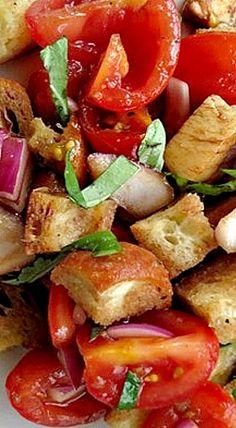 Delicious Bruschetta Salad Recipe