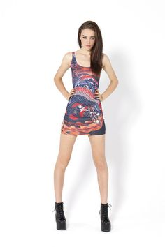 Phoenix Dress › Black Milk Clothing Sold Out :P So bad ass