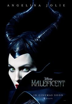 Disney Shows Off The First Poster Of Angelina Jolie As Maleficent- I can't wait to see her in this!!!