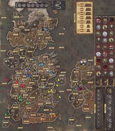 A 9 player variant with Essos added | A Game of Thrones: The Board Game (Second Edition) | BoardGameGeek