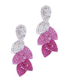 Fuschia chandelier earrings jewelry pinterest chandelier re4755 fuschia aloadofball
