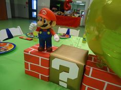 Super Mario Bros Birthday Party Ideas | Photo 5 of 31 | Catch My Party