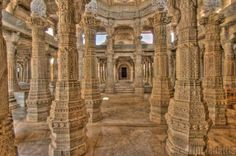 With 24 halls, 84 domes and 1,444 pillars, the Ranakpur Temple in Rajasthan is one of India's most beautiful Jain temples. The interiors are miraculously cool, and the idol can be viewed from any part of the temple. No two pillars are alike. It took 65 years to construct. Come and visit this marvel of India and have an experience that you will never forget.   http://www.vresorts.in/resorts/v-resorts-aranyawas-ranakpur?utm_source=fb&utm_medium=cpc-sn&utm_campaign=ranakpur